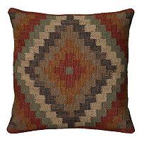 Rizzy Home Southwestern Geometric Throw Pillow