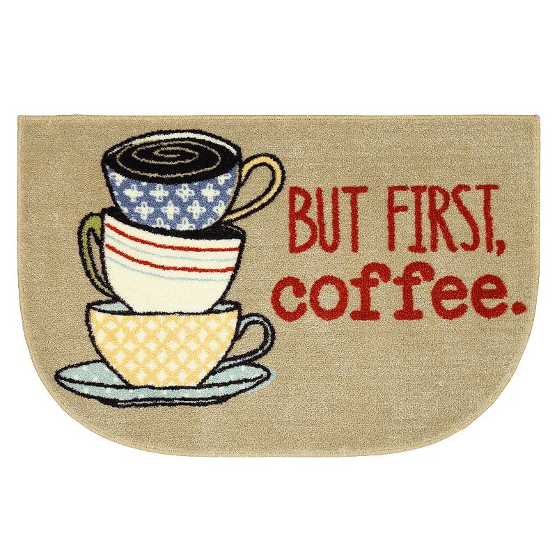 SONOMA Goods for Life™ ''But First, Coffee'' Kitchen Rug - 20'' x 30''