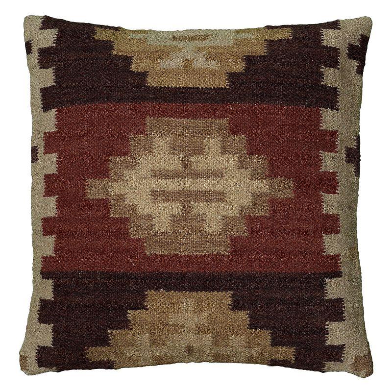 Rizzy Home Southwestern Geo Throw Pillow