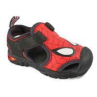 Marvel Spider-Man Boys' Light-Up Sandals