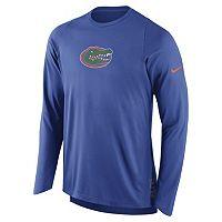 Men's Nike Florida Gators Elite Shooter Long-Sleeve Tee