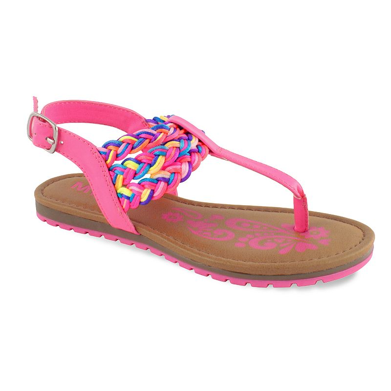 Mia Felicity Girls' Braided Sandals