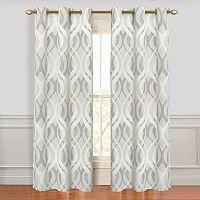Dainty Home 2-pack Metropolitan Curtains - 38'' x 84''