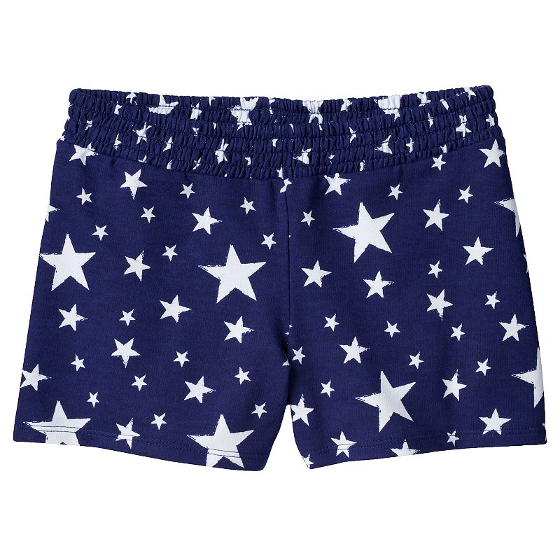 Girls 4-6x Jumping Beans® Patriotic Smocked Shorts