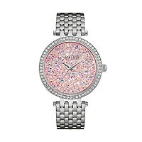 Caravelle New York by Bulova Women's Crystal Stainless Steel Watch - 43L194