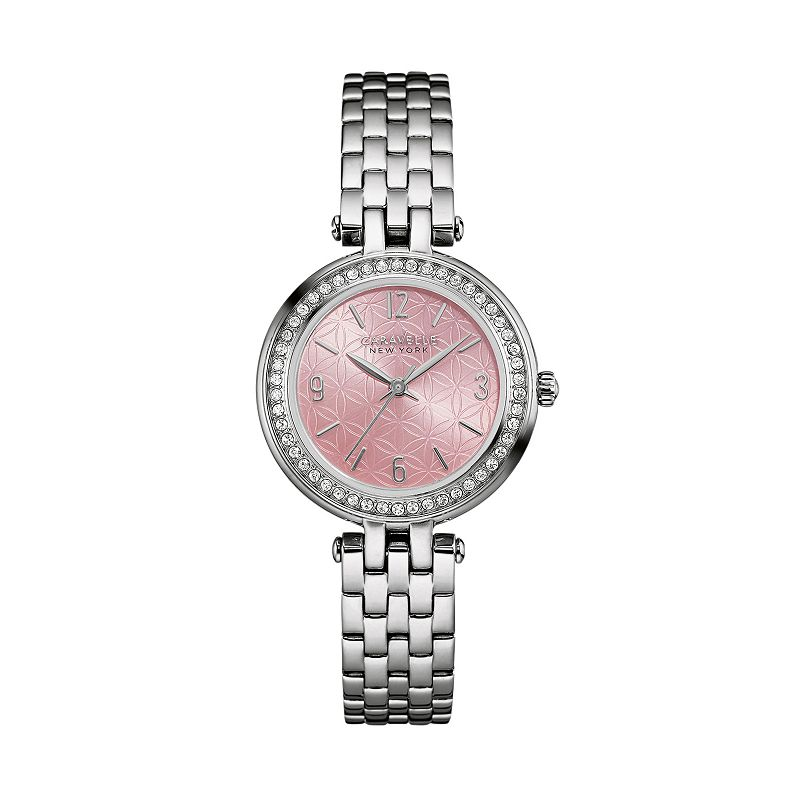 Caravelle New York by Bulova Women's Crystal Stainless Steel Watch - 43L193