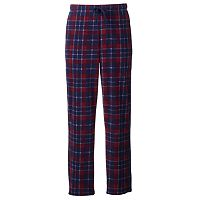 Croft & Barrow Mens Patterned Microfleece Lounge Pants (Multi Colors)