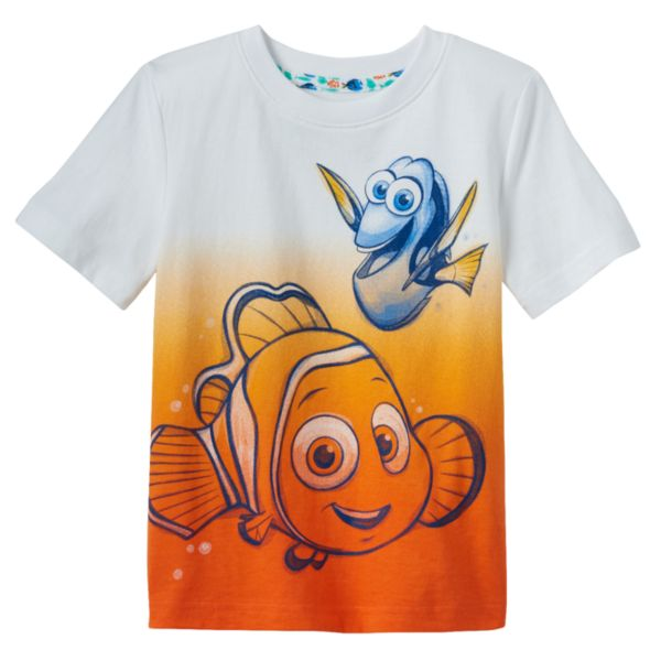Disney / Pixar Finding Dory Nemo & Dory Toddler Boy Dip-Dyed Tee by Jumping Beans®
