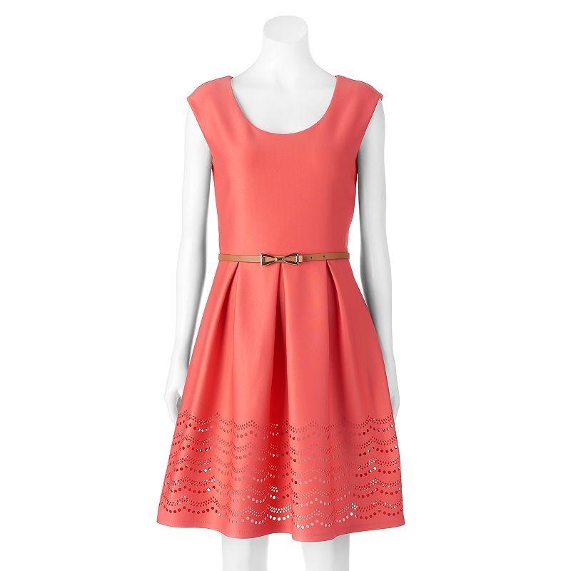 Women's Tiana B Cutout Fit & Flare Dress