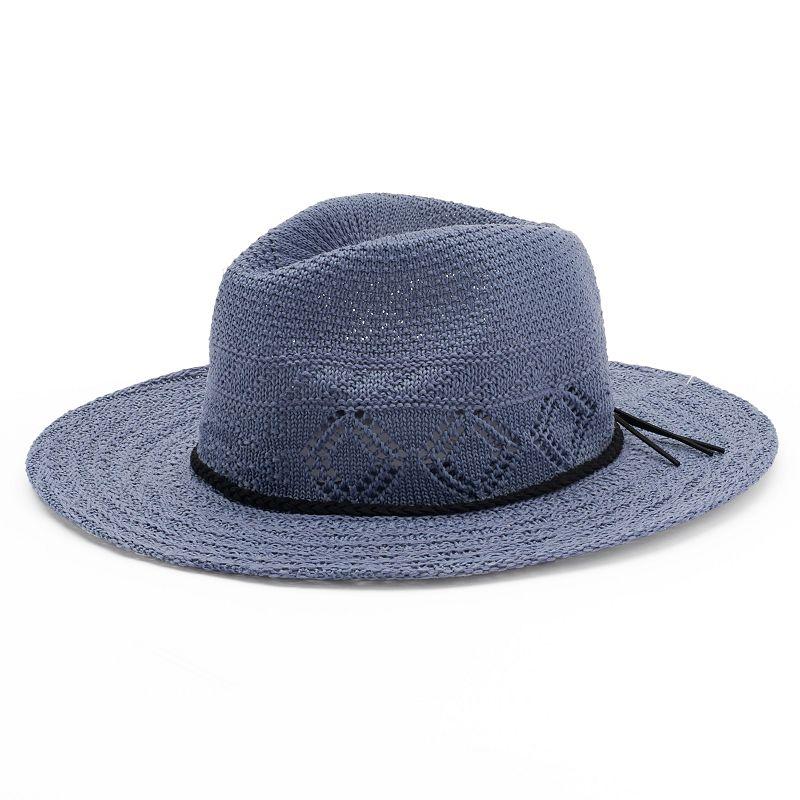 Women's Candie's® Knit Panama Hat