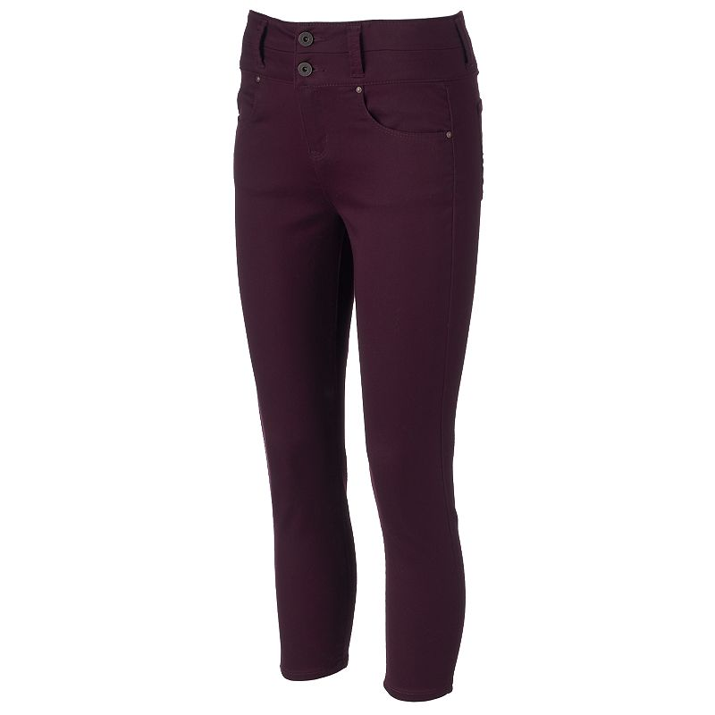 Juniors' Tinseltown Double Stack Ankle Pants