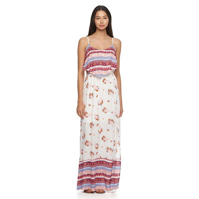 Juniors' Mudd® Layered Maxi Dress