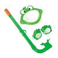 Kids Bestway 3-pc. Frog Character Swim Set