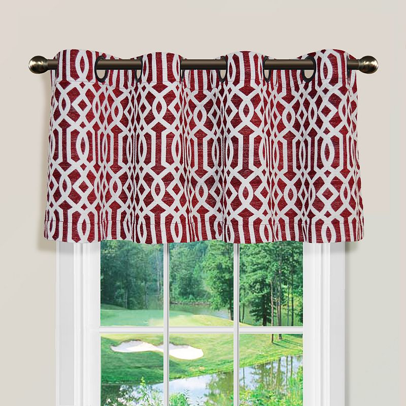 Spencer Home Decor Iron Lattice Valance 54 x 16