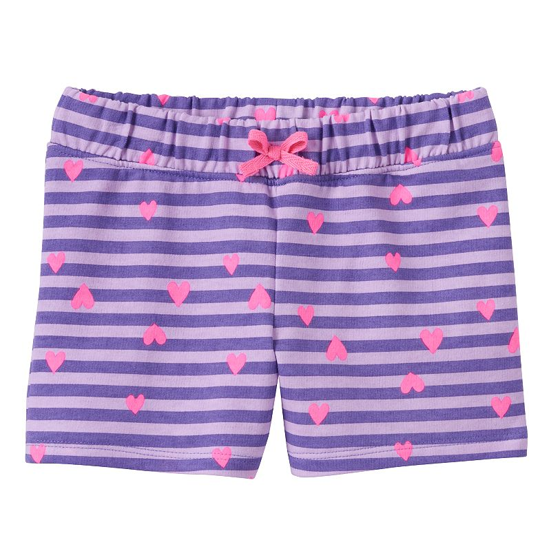 Toddler Girl Jumping Beans® Printed French Terry Shorts