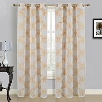 Dainty Home 2-pack Isabella Curtains - 38'' x 84''
