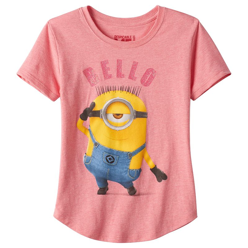Girls 7-16 Despicable Me Minion