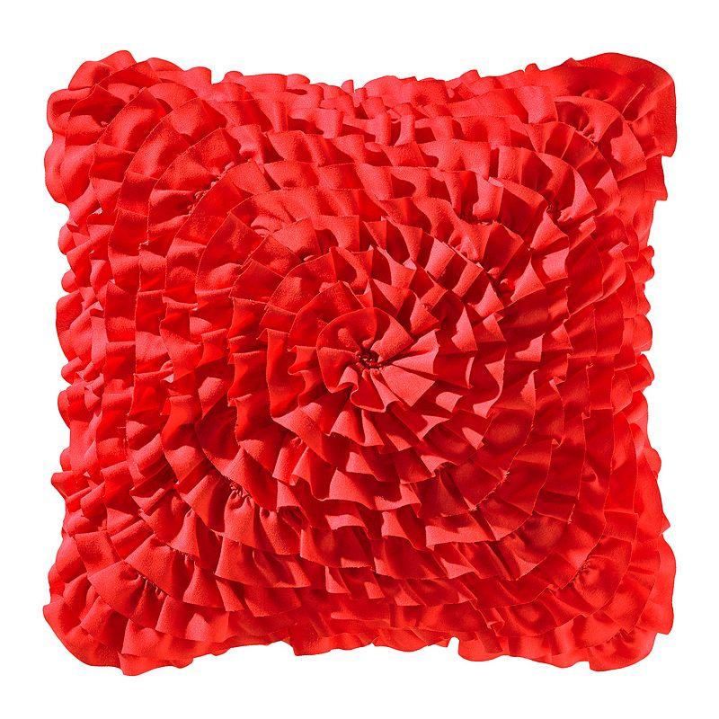 Teen Vogue Ruffled Throw Pillow