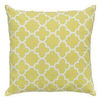 Rizzy Home Trellis Throw Pillow