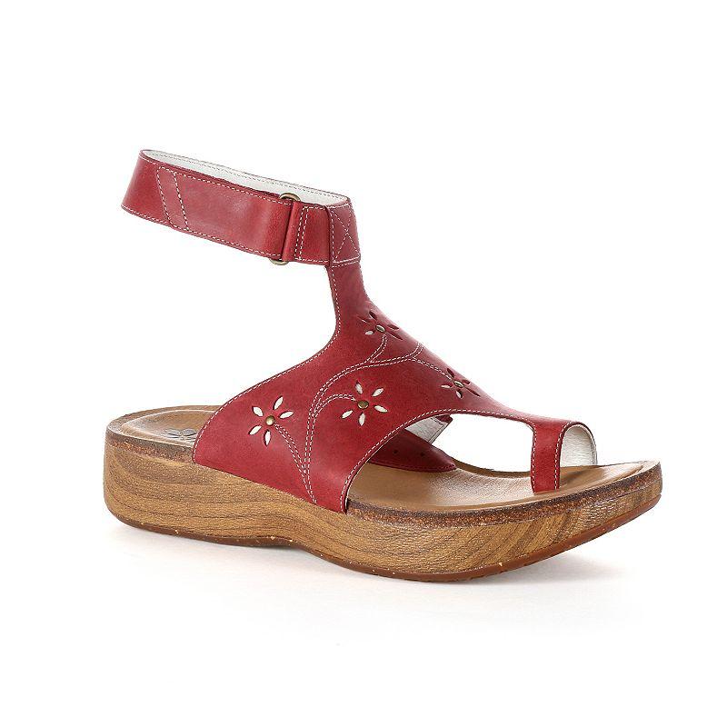 Rocky 4EurSole Bountiful Women's Leather Toe-Ring Sandals