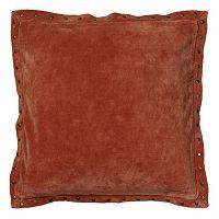 Rizzy Home Studded Velvet Throw Pillow