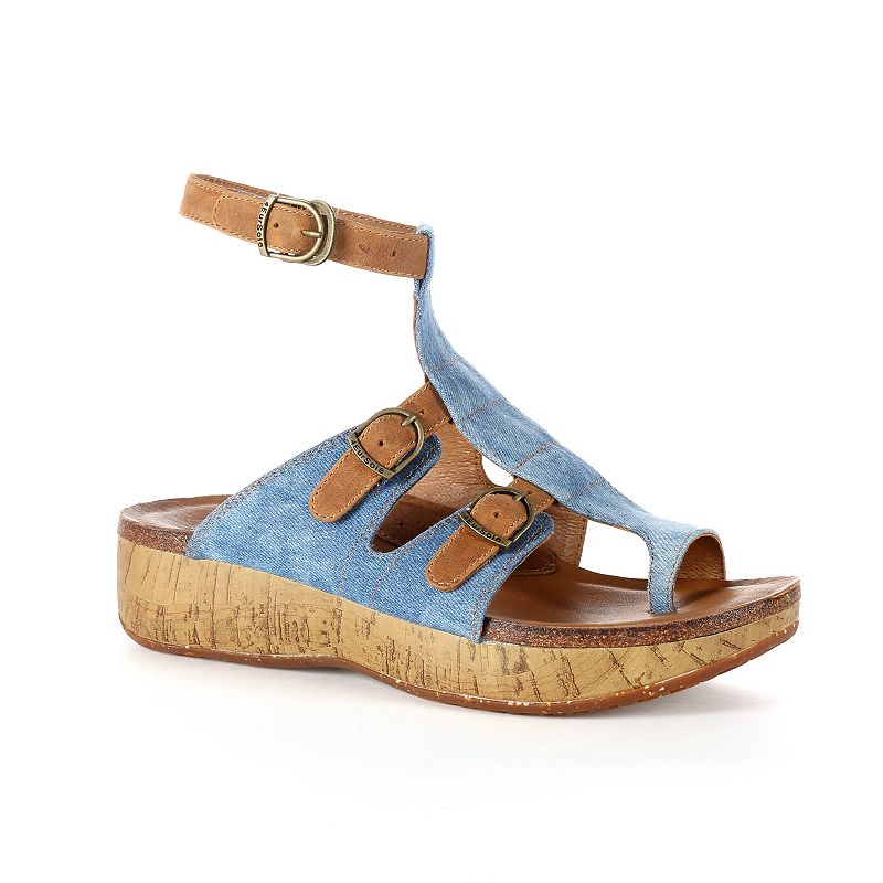 Rocky 4EurSole Scroll Women's Toe-Ring Sandals