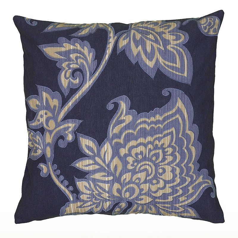 Kohls Purple Throw Pillows : Rizzy Home Violet Floral Throw Pillow DealTrend