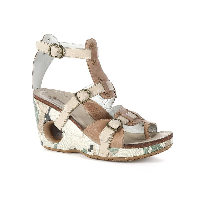Rocky 4EurSole Set Free Women's Toe-Ring Wedge Sandals