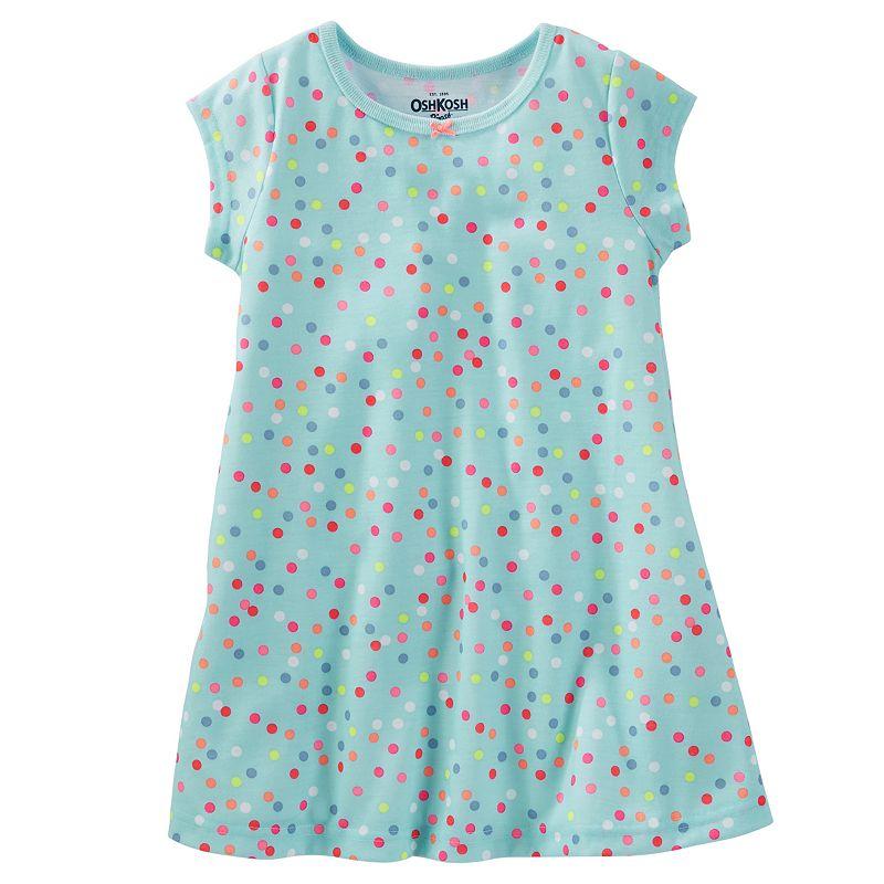 Toddler Girl OshKosh B'gosh® Print Sleep Dress