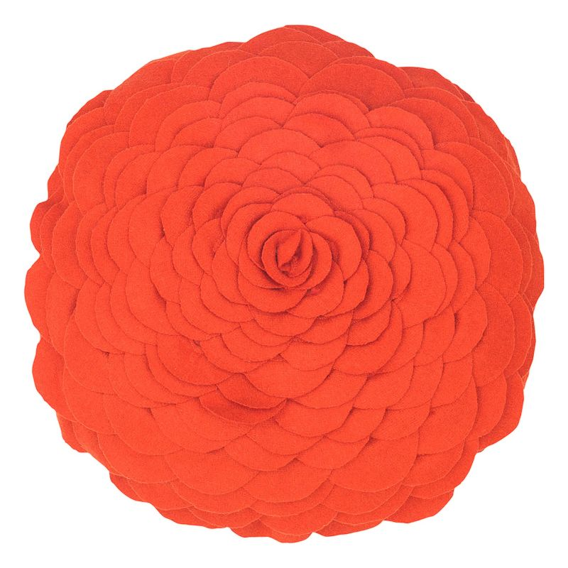 Rizzy Home Floral Round Throw Pillow