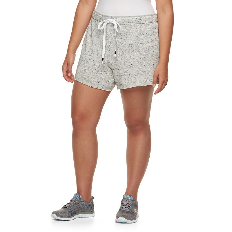Juniors' Plus Size SO® French Terry Bermuda Shorts