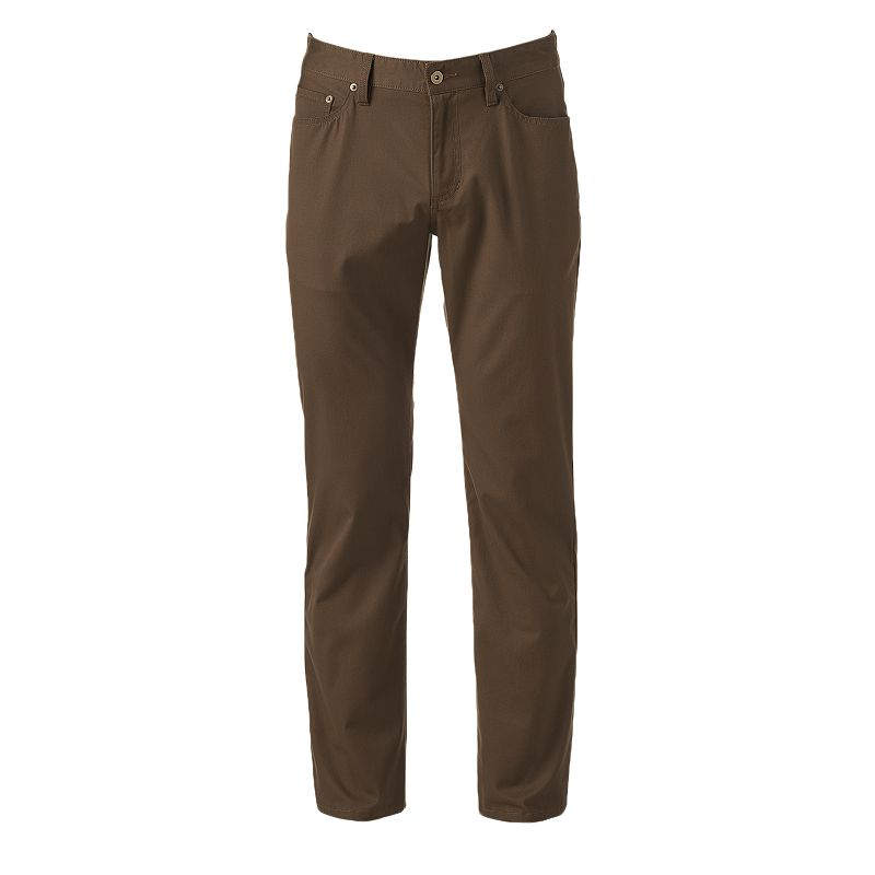Men's Apt. 9® Slim-Fit Performance Khaki Flat-Front Pants