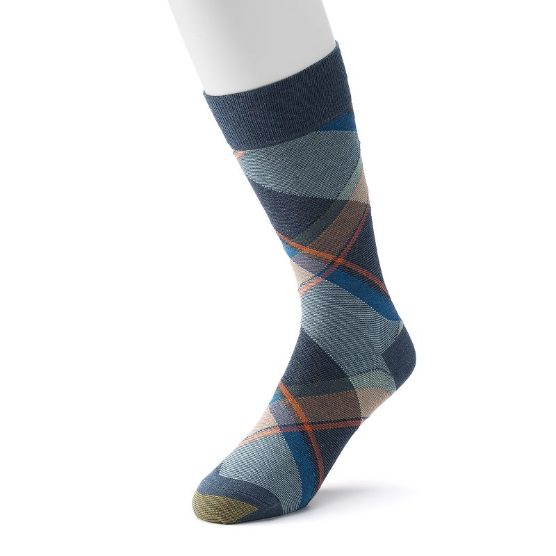 Men's GOLDTOE Bohemian Plaid Dress Socks