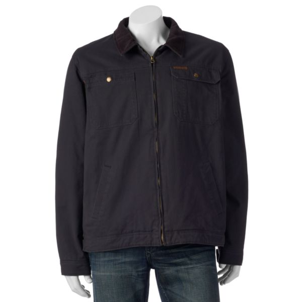 Men's Field & Stream Flannel-Lined Twill Jacket