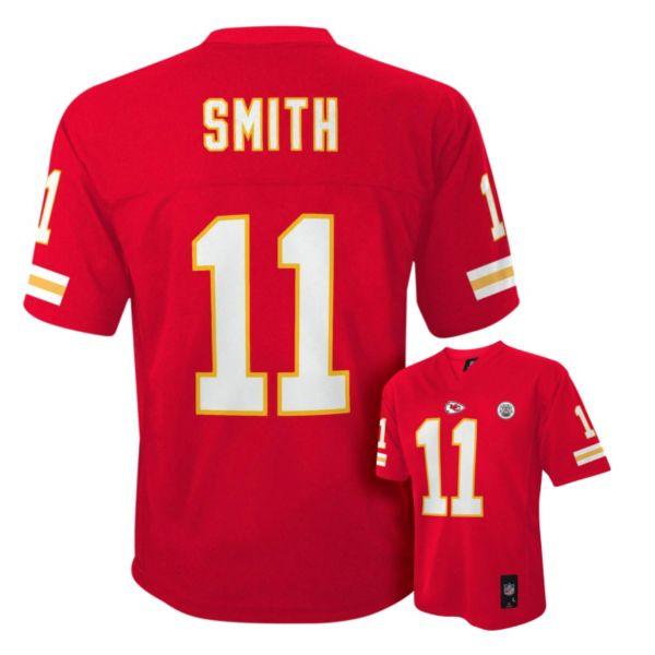 Boys 4-7 Kansas City Chiefs Alex Smith NFL Replica Jersey