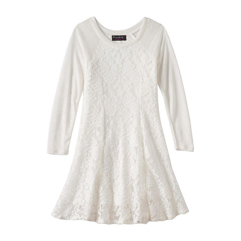 Girls 7-16 Disorderly Kids Hatchi Raglan Shift Dress