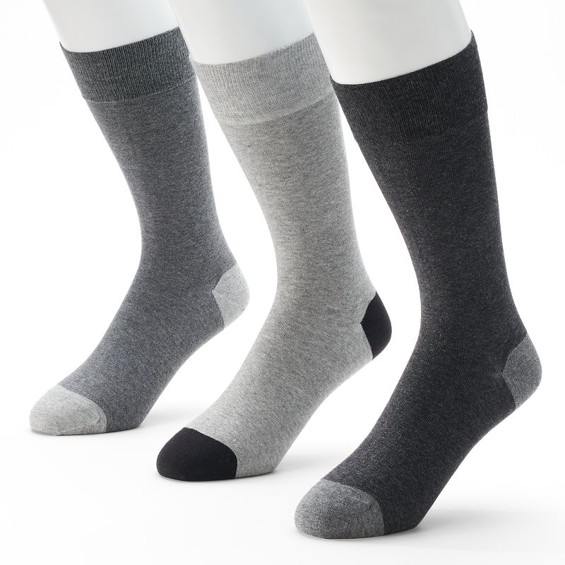 Men's Marc Anthony 3-pk. Solid Dress Socks