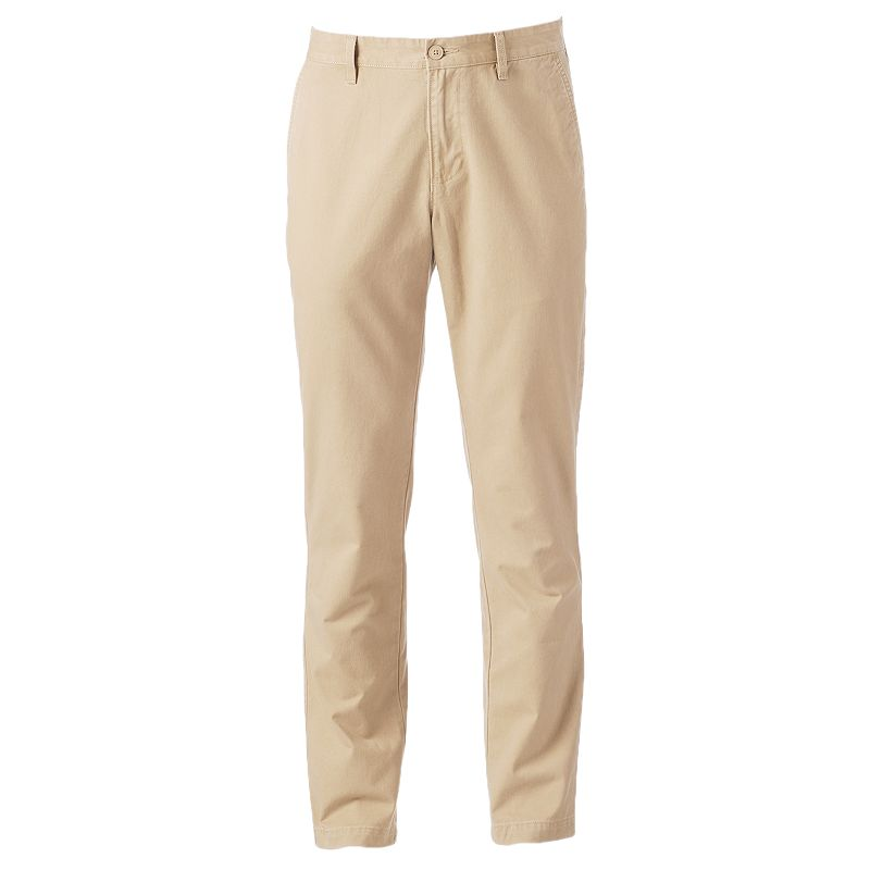 Men's SONOMA Goods for Life™ Slim-Straight Twill Pants
