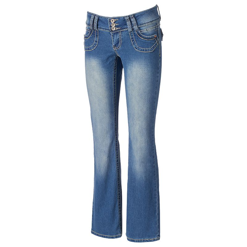 Juniors' Angels Bootcut Jeans