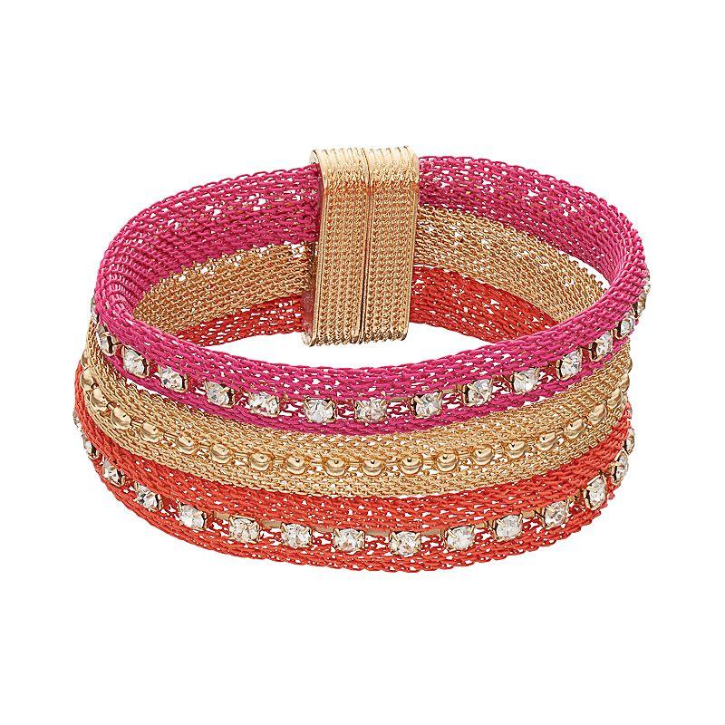 Multi Row Mesh Bracelet