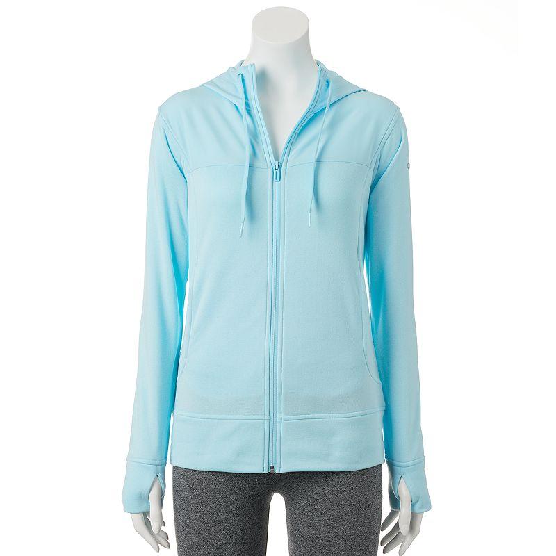 Women's adidas climawarm Go-To Fleece Full-Zip Hoodie