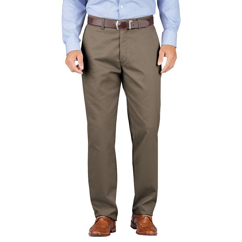 Men's Dickies Relaxed-Fit Comfort-Waist Khaki Dress Pants