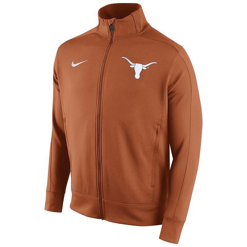 Men's Nike Texas Longhorns Stadium Class Track Jacket
