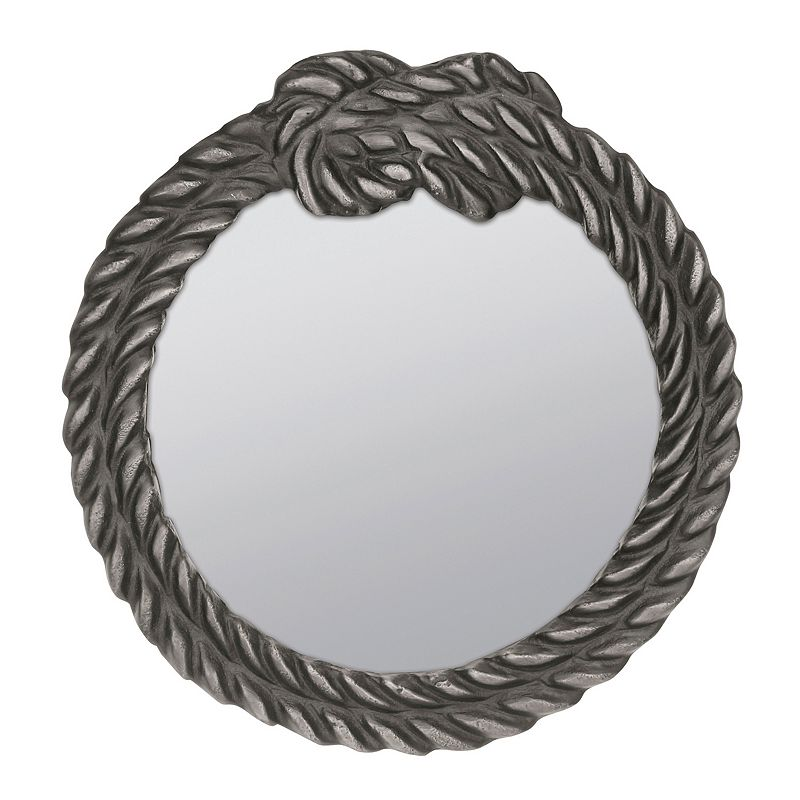 Stonebriar Collection Antique Rope Wall Mirror