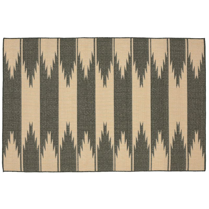 Trans Ocean Imports Liora Manne Terrace Taos Striped Indoor Outdoor Rug