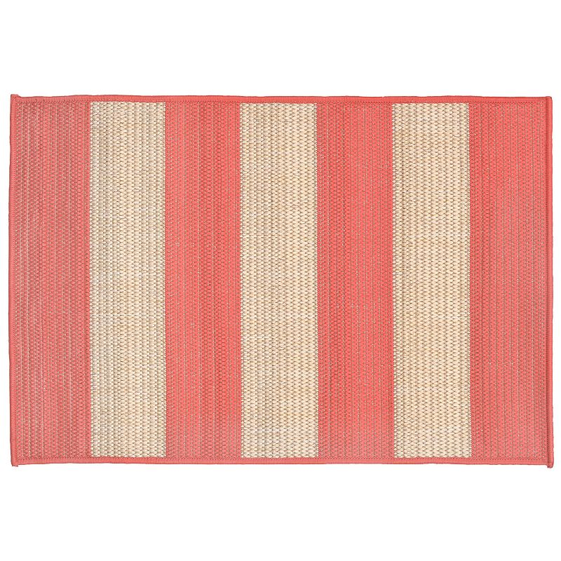 Trans Ocean Imports Liora Manne Terrace Rugby Striped Indoor Outdoor Rug