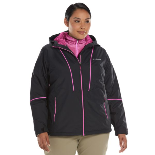 Plus Size Columbia Snow Daze Thermal Coil Snowboard Jacket