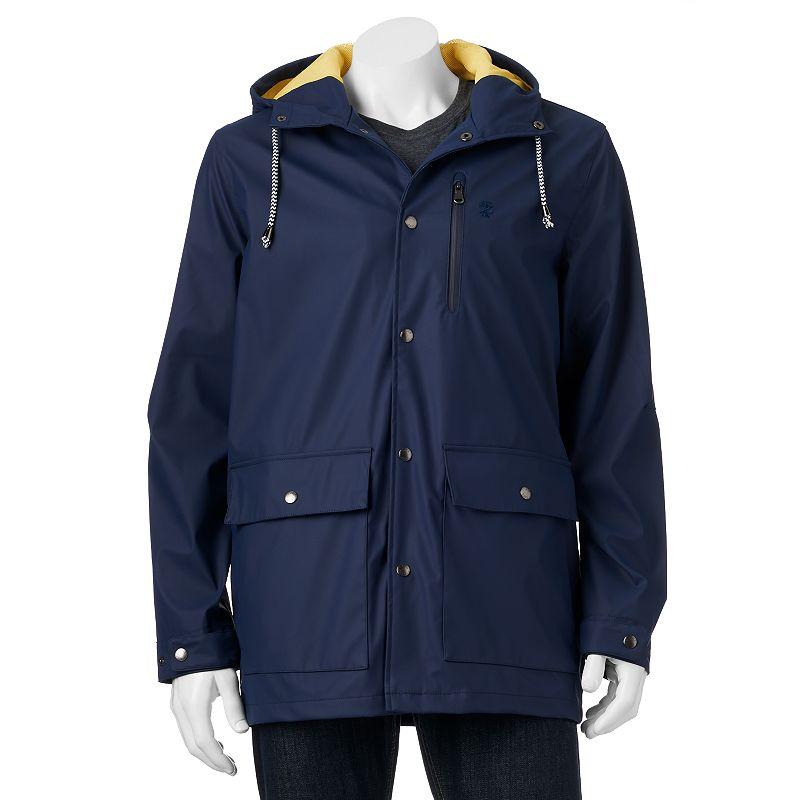 Men's IZOD Classic-Fit Hooded Boating Jacket
