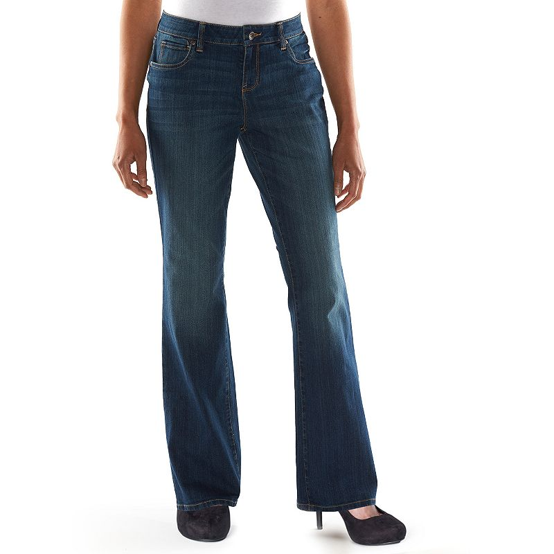 Women's SONOMA life + style Curvy Bootcut Jeans