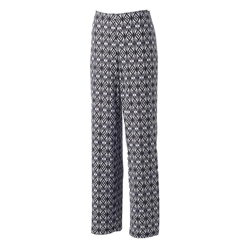 Women's AB Studio Printed Soft Pants
